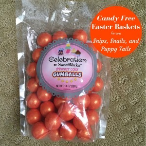 Candy Free Easter Baskets